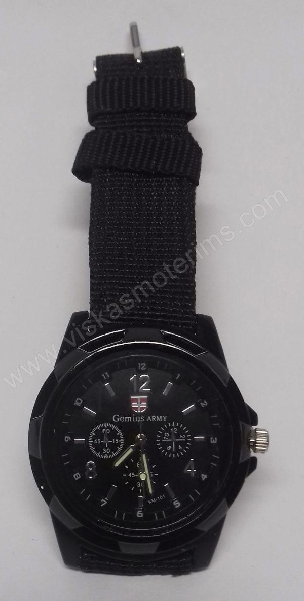 Vyriškas kareiviškas laikrodis Gemius Army - iš arčiau