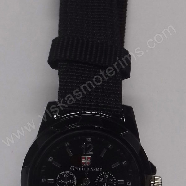 Vyriškas kareiviškas laikrodis Gemius Army - iš arčiau 2