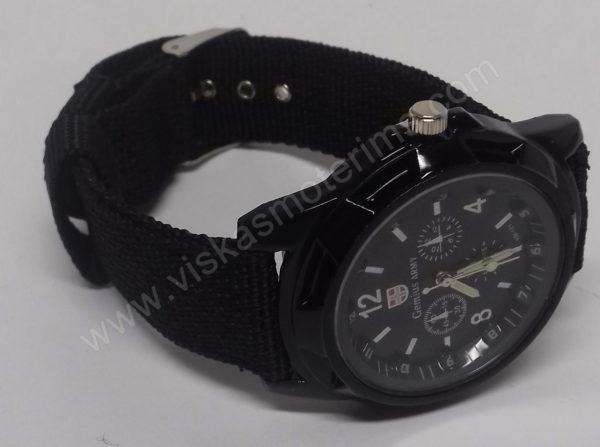 Vyriškas kareiviškas laikrodis Gemius Army - užsegtas
