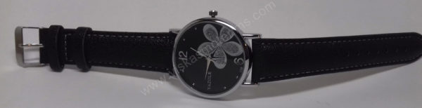 Moteriškas laikrodis Yazole su gėle - visu ilgiu 2