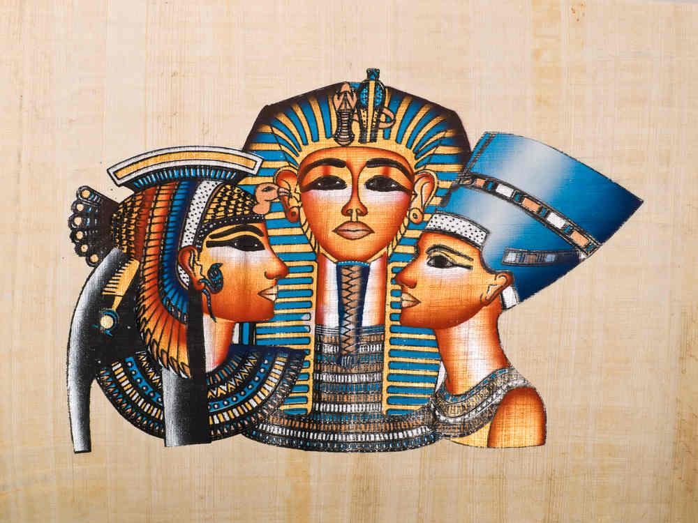 Faraonas ir sesuo Kleopatra