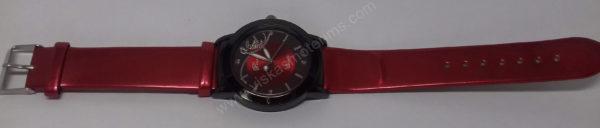 Moteriškas laikrodis raudonas Prema - visu ilgiu