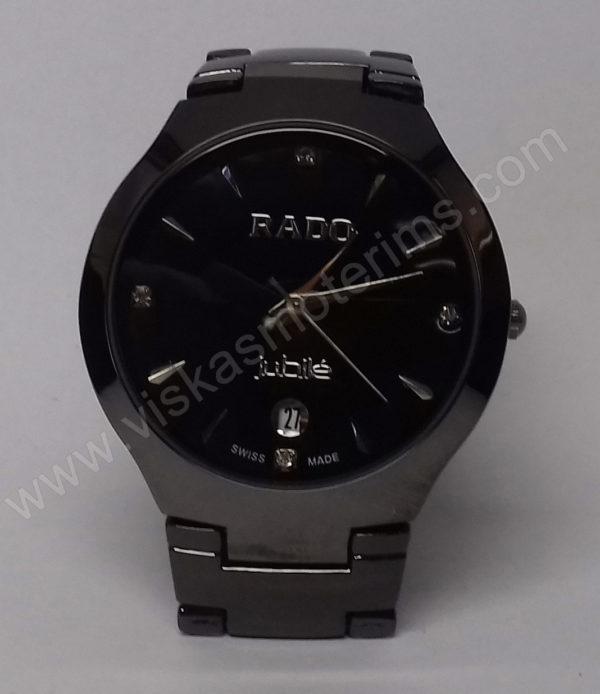 Vyriškas laikrodis Rado su metaline uzsegama apyranke - iš arti
