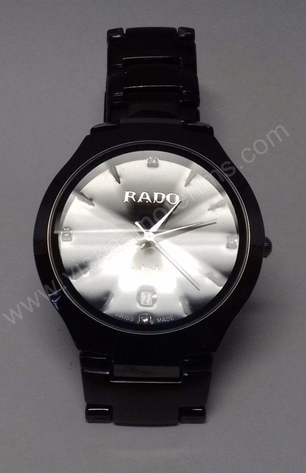Vyriškas laikrodis Rado su metaline uzsegama apyranke - iš arti 2
