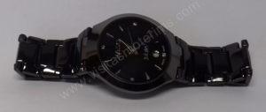 Vyriškas laikrodis Rado su metaline uzsegama apyranke - iš arti gulsčiai