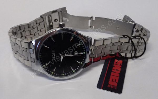Vyriškas laikrodis Skmei metalinis - šonu