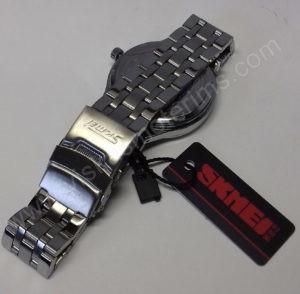 Vyriškas laikrodis Skmei metalinis - iš galo