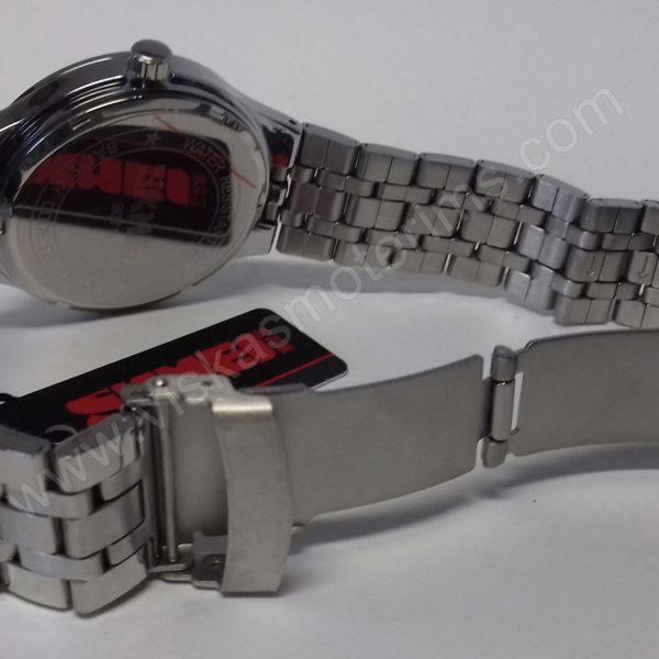 Vyriškas laikrodis Skmei metalinis - iš galo atsegimas
