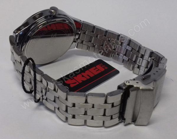Vyriškas laikrodis Skmei metalinis - iš galo apyrankė