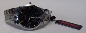 Vyriškas laikrodis Skmei metalinis - ciferblatas iš arti