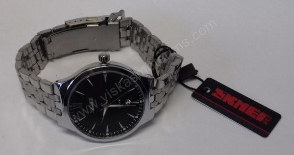 Vyriškas laikrodis Skmei metalinis - ciferblatas ir apyrankė