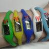 Elektroninis laikrodis silikonine apyranke