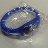 Elektroninis laikrodis silikonine apyranke (mėlynos spalvos) - maišiuke