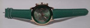 Moteriškas laikrodis mentolo spalvos - iš priekio