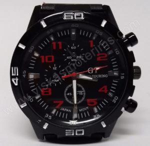 Vyriškas laikrodis sportinis su silikoniniu dirželiu