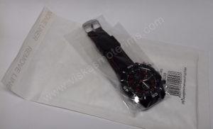 Vyriškas laikrodis sportinis su silikoniniu dirželiu - su siunčiamu voku