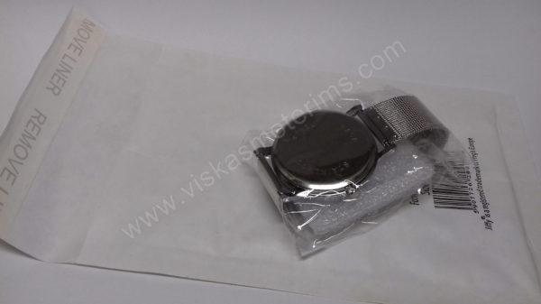 Vyriškas laikrodis su metaliniu dirželiu - su voku