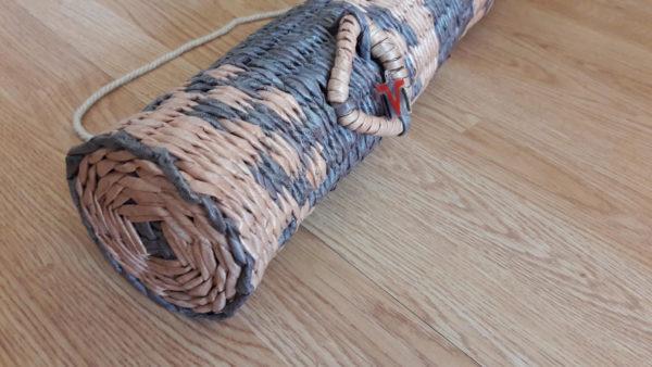Pinta talpa (tubusas) iešmams laikyti - dugnas ir dekoracija