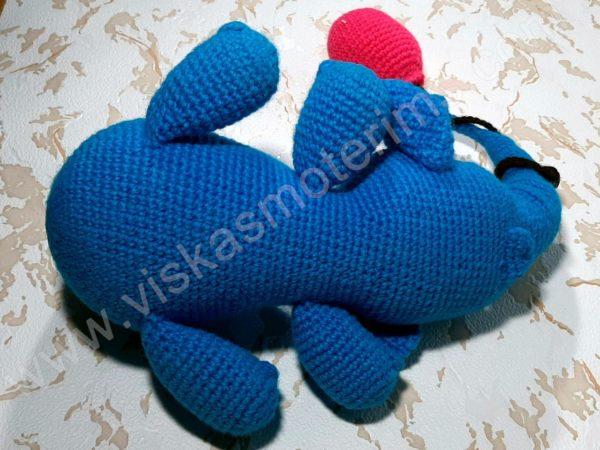 Nertas drambliukas su oro balionu - 02