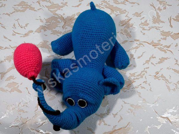 Nertas drambliukas su oro balionu - 03