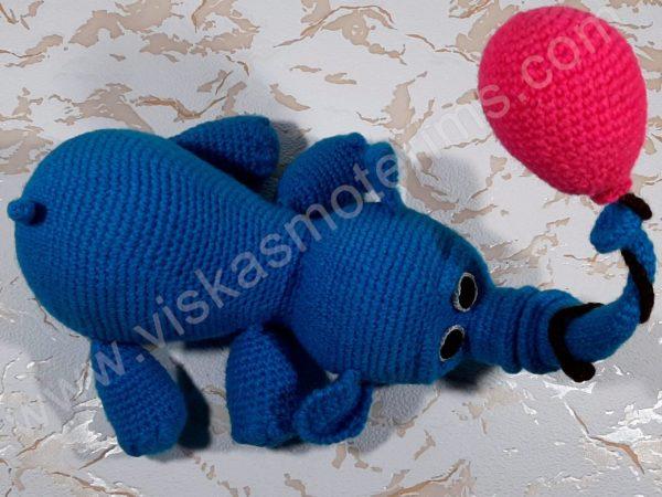 Nertas drambliukas su oro balionu - 04
