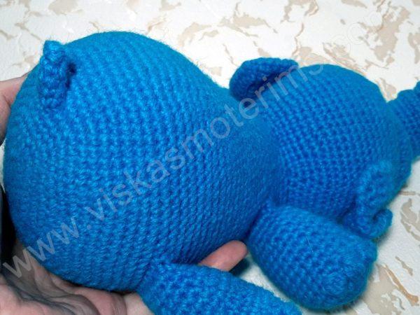 Nertas drambliukas su oro balionu - 07