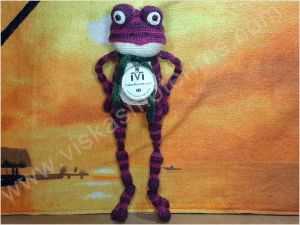 Nertas varliukas Flipas violetinės spalvos - 03