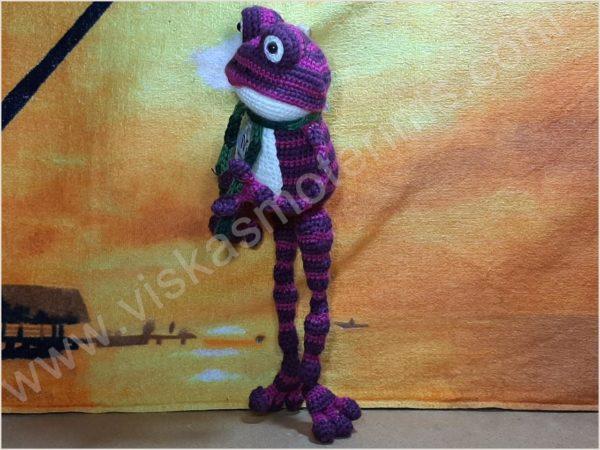 Nertas varliukas Flipas violetinės spalvos - 04
