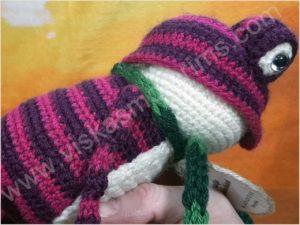 Nertas varliukas Flipas violetinės spalvos - 08