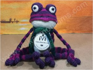 Nertas varliukas Flipas violetinės spalvos - 09