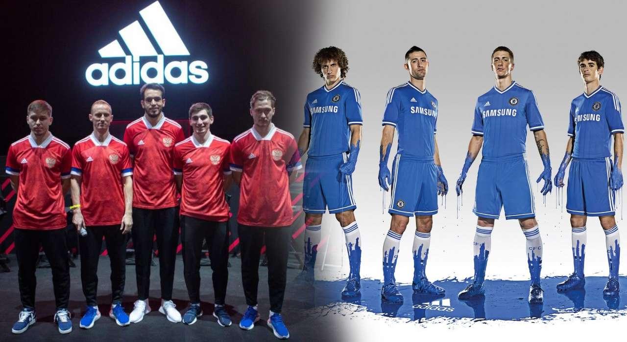 Праздник от Adidas и новая форма клуба - команда